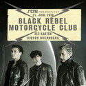 MORGEN DIENSTAG EINSENDESCHLUSS: BLACK REBEL MOTORCYCLE CLUB, DO. 21.06.2018, NBG. HIRSCH