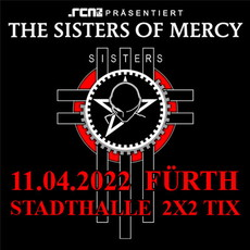 .rcn präsentiert: THE SISTERS OF MERCY